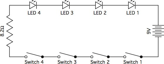 jefferson lab s workbench projects electric avenue appendix c rh education jlab org Simple Series Circuit Diagram series circuit diagram worksheets