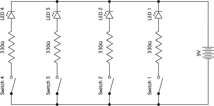 Series Parallel Wiring Diagram : What is a series parallel circuit